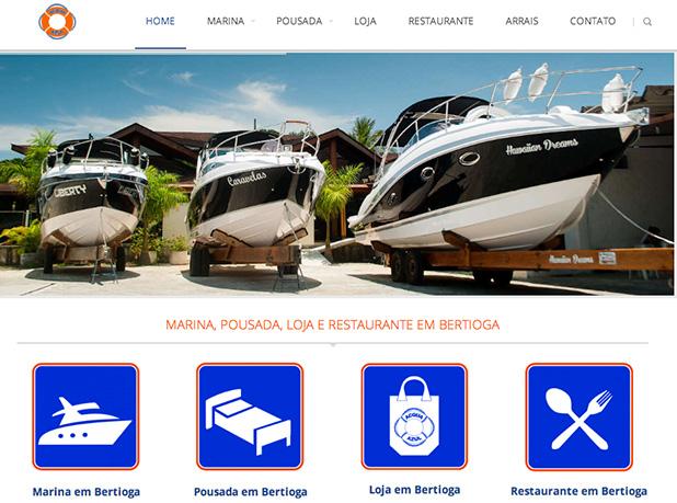 Site Acqua Azul Bertioga