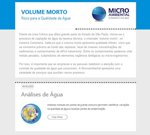 E-mail Marketing Microambiental