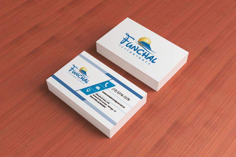 Cartão de Visita Restaurante Funchal | Bertioga