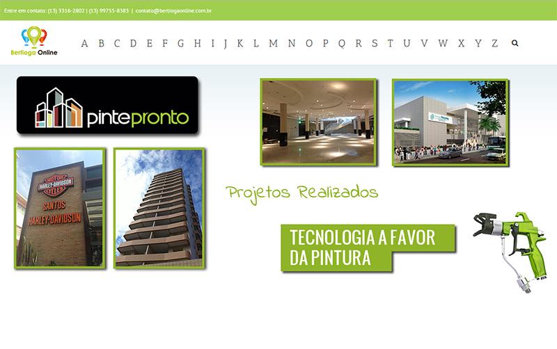 Desenvolvimento de sites   BertiogaOnline   Bertioga