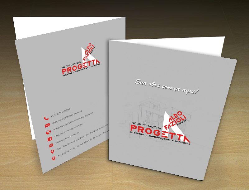 Pasta personalizada Progetta