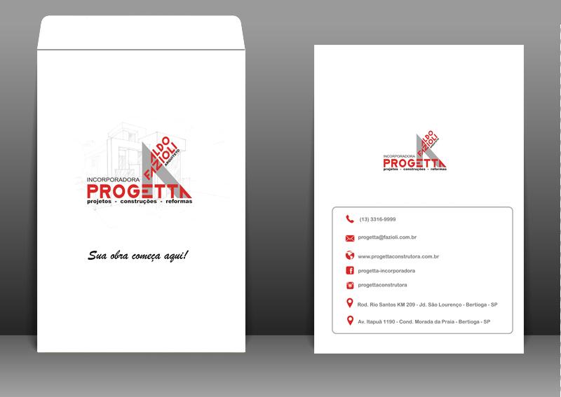 Envelope Personalizado Progetta