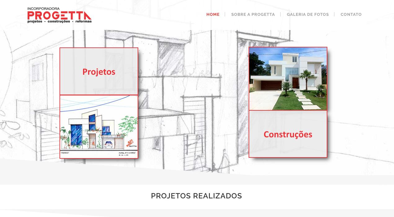 img desenvolvimento de site construtora progetta