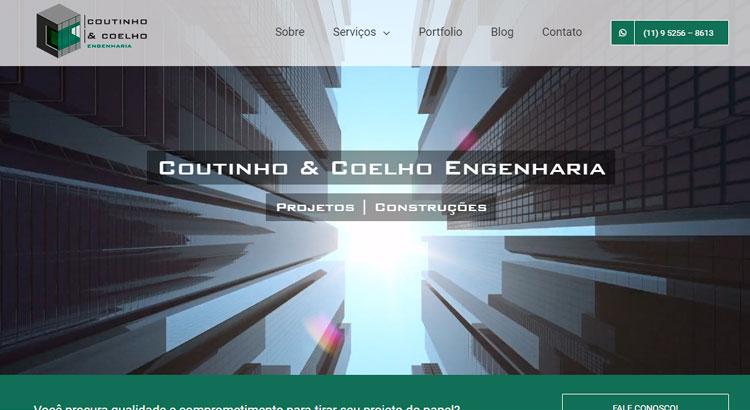 Site em Wordpress Coutinho e Coelho