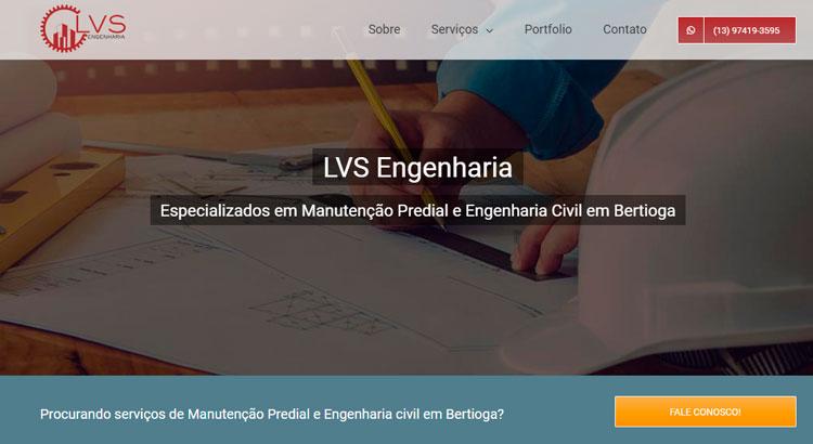 Criacao de sites LVS Engenharia