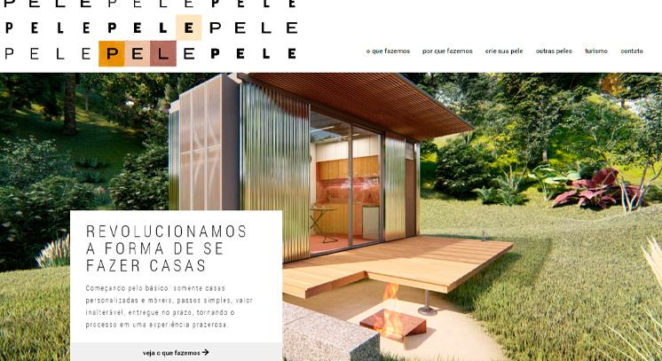 Site em WordPress Pele Arquitetura